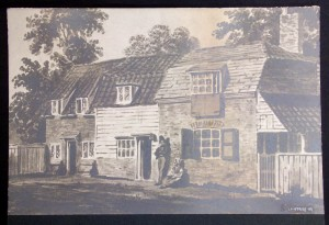 Cottages in Rye Lane 1810