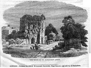 St Radigund.s Abbey 1837